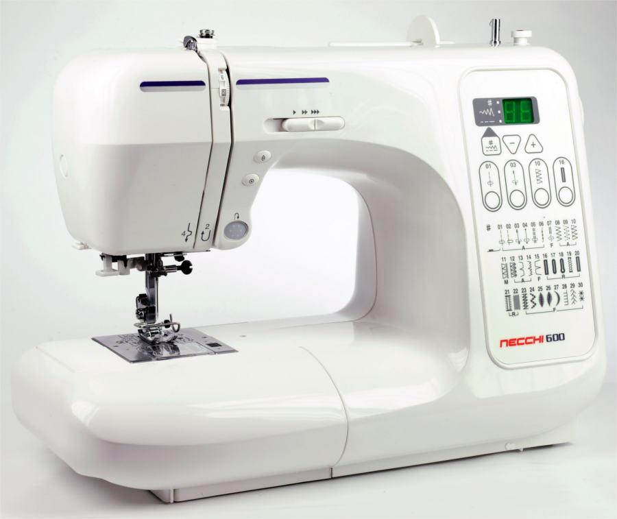 Macchina per cucire necchi n600 shopping cucito for Trony macchine da cucire