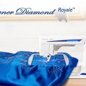 Macchina per cucire e Ricamare Husqvarna Designer Diamond Royale