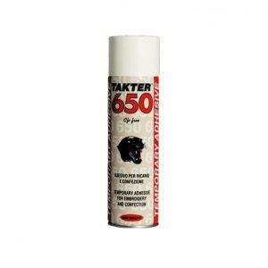 Adesivo Spray Temporaneo Takter 650 Siliconi Commerciale