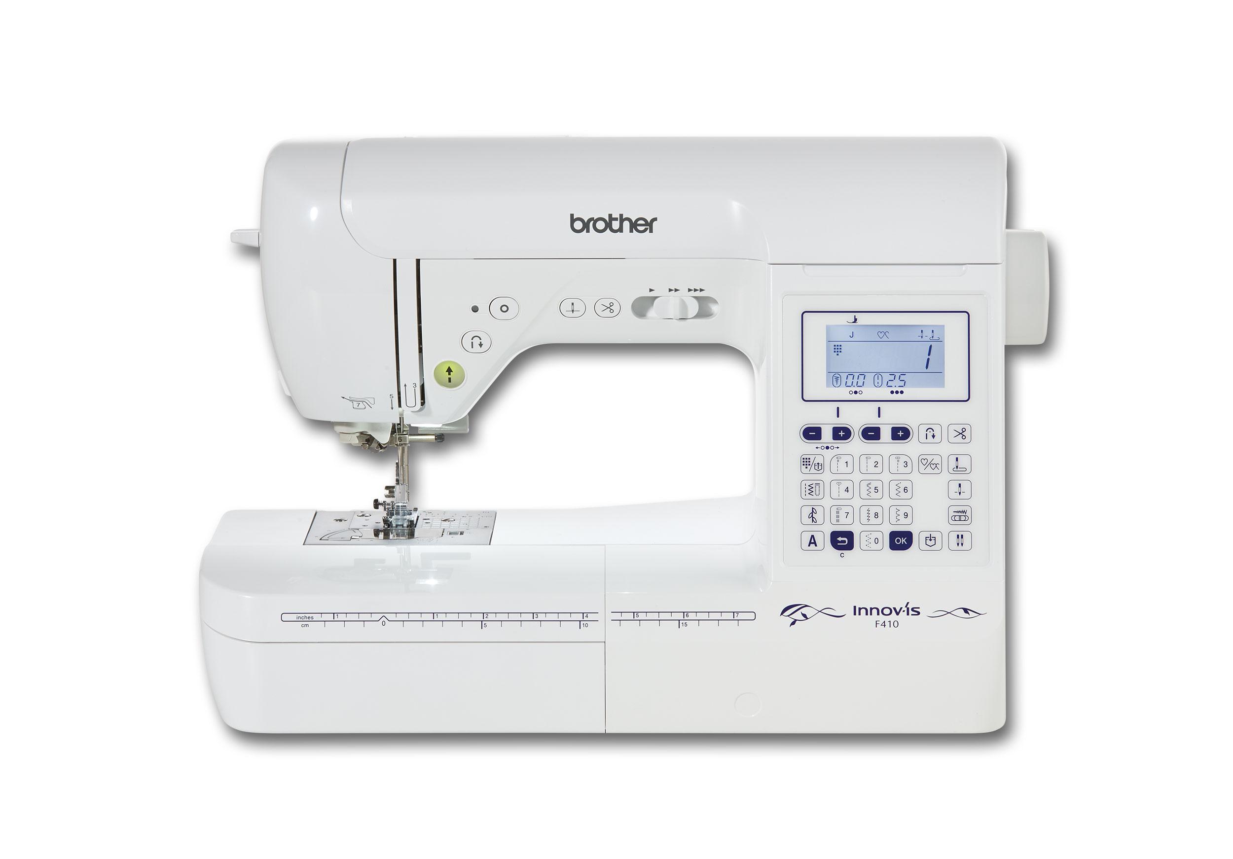 Macchina per cucire brother innovis f410 shopping cucito for Macchina da cucire economica per principianti