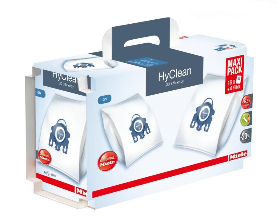 sacchetti hyclean 3d efficiency gn xxl originali miele shopping cucito. Black Bedroom Furniture Sets. Home Design Ideas