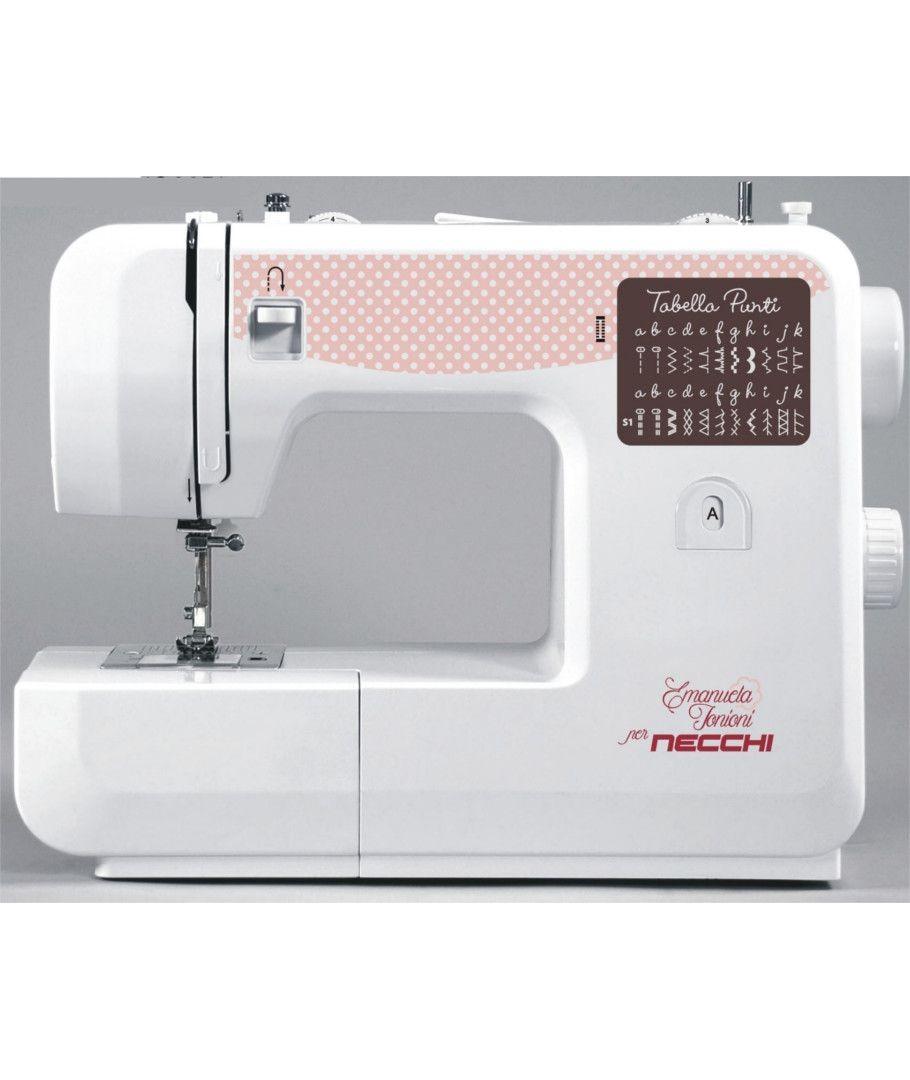Macchina per cucire necchi zakka 130 shopping cucito for Ipercoop macchina da cucire