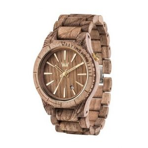 Orologio in Legno WeWood Assunt Waves Nut Rough